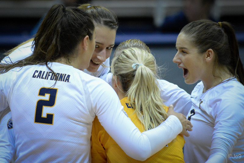 2015-09 Cal VB vs UCLA (Close-ups & Jumbo tron)-35