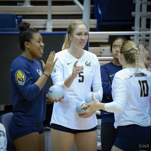 2015-09 Cal VB vs UCLA (Close-ups & Jumbo tron)-22
