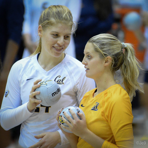 2015-09 Cal VB vs UCLA (Close-ups & Jumbo tron)-23