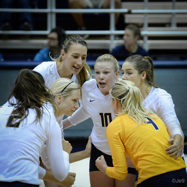 2015-09 Cal VB vs UCLA (Close-ups & Jumbo tron)-33