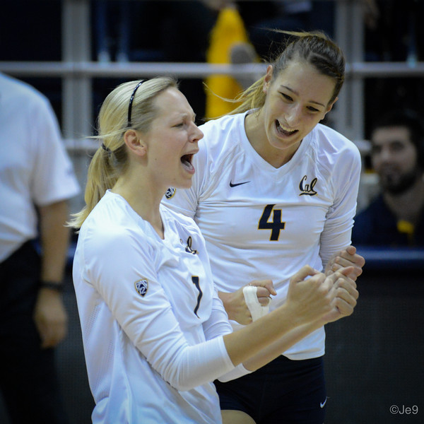2015-09 Cal VB vs UCLA (Close-ups & Jumbo tron)-39
