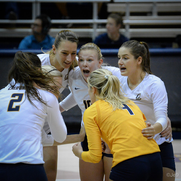 2015-09 Cal VB vs UCLA (Close-ups & Jumbo tron)-34