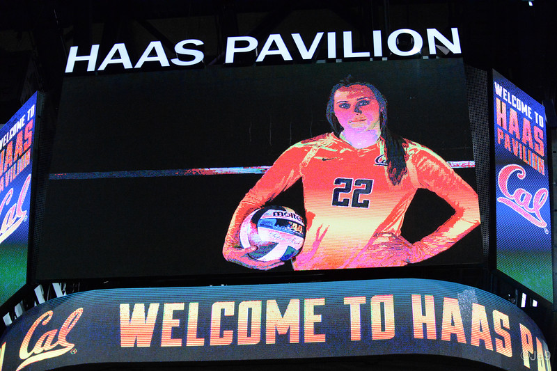 2015-09 Cal VB vs UCLA (Close-ups & Jumbo tron)-13