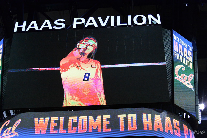 2015-09 Cal VB vs UCLA (Close-ups & Jumbo tron)-4