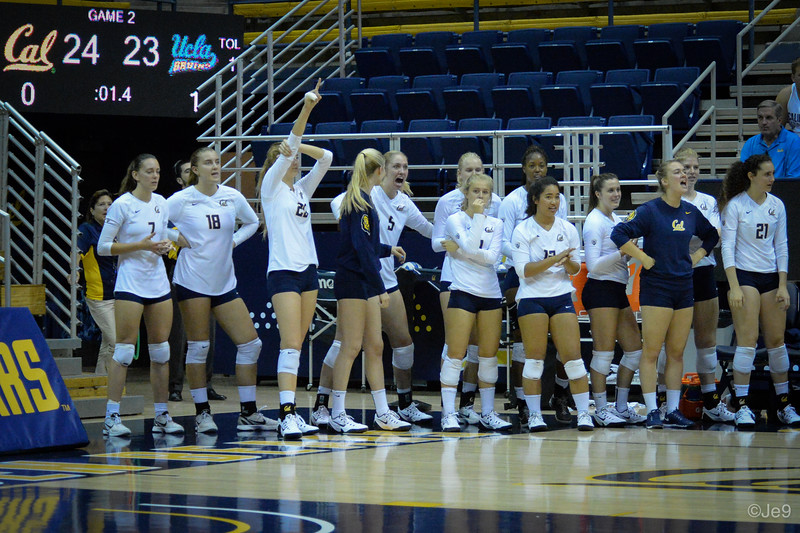 2015-09 Cal VB vs UCLA (Close-ups & Jumbo tron)-76