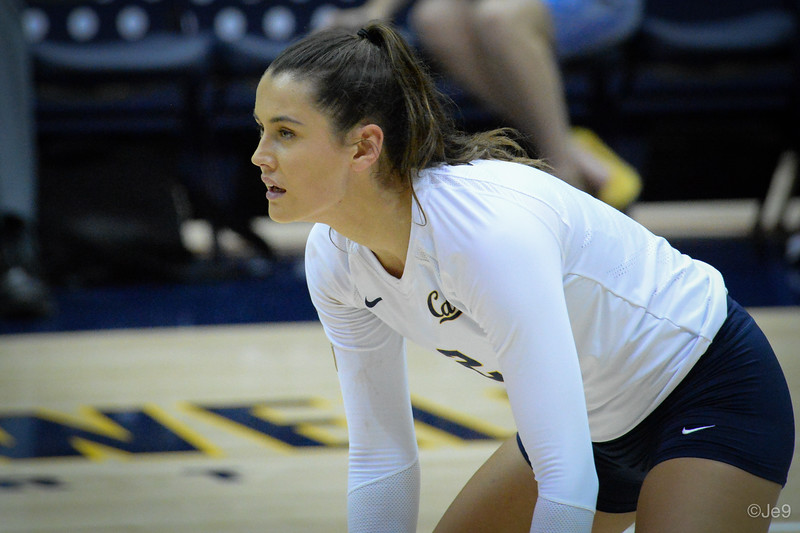 2015-09 Cal VB vs UCLA (Close-ups & Jumbo tron)-43