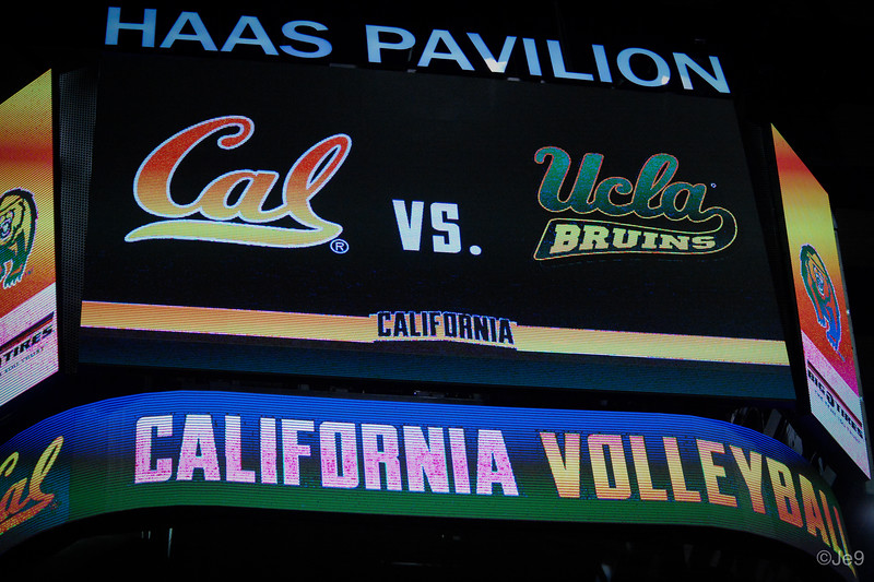 2015-09 Cal VB vs UCLA (Close-ups & Jumbo tron)-58