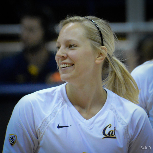 2015-09 Cal VB vs UCLA (Close-ups & Jumbo tron)-36