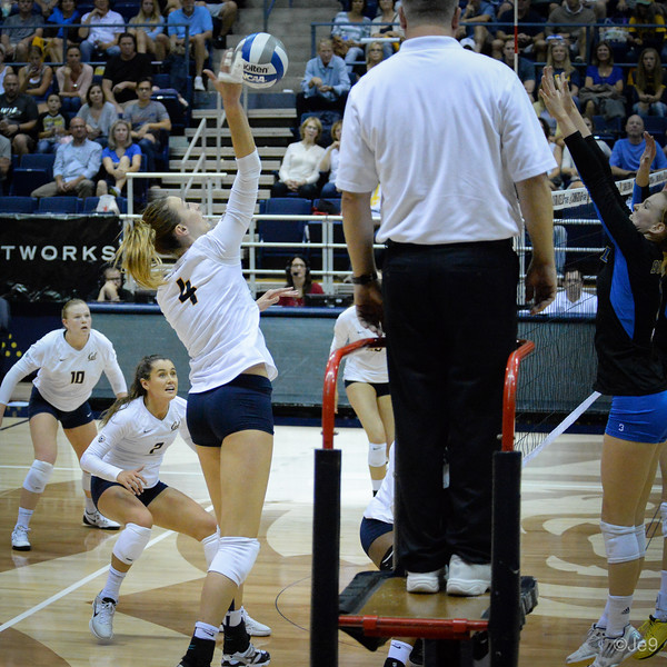 2015-09 Cal VB vs UCLA (Close-ups & Jumbo tron)-50