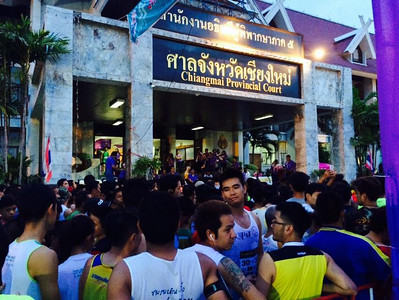 Rapee Mini Marathon at  Chiangmai Provincial Court