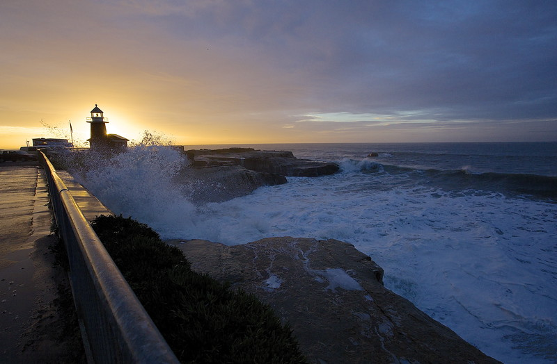 The Waves. Santa Cruz, California