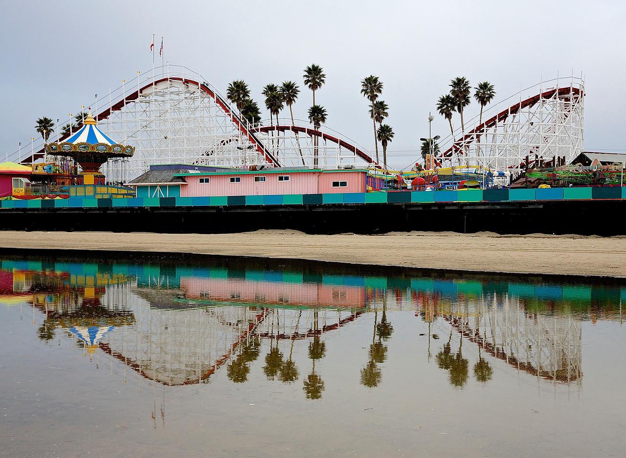 Santa Cruz Beach Boardwalk.