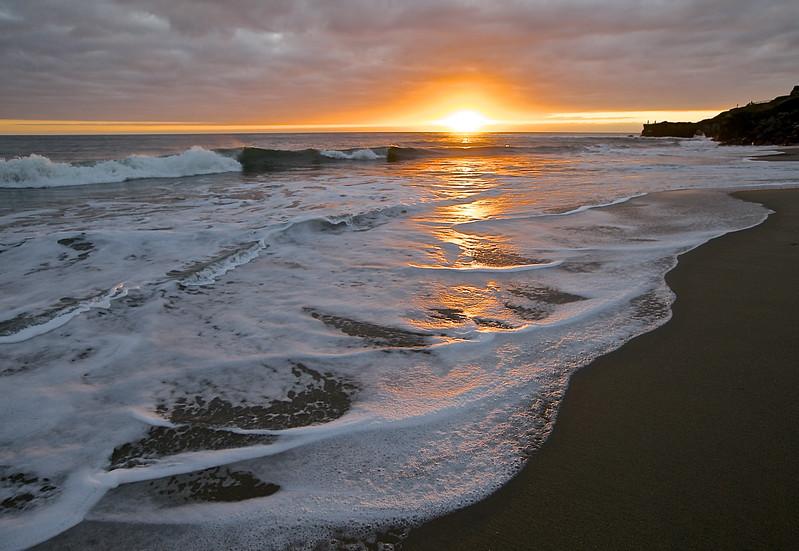 Santa Cruz Sunset. Santa Cruz, California