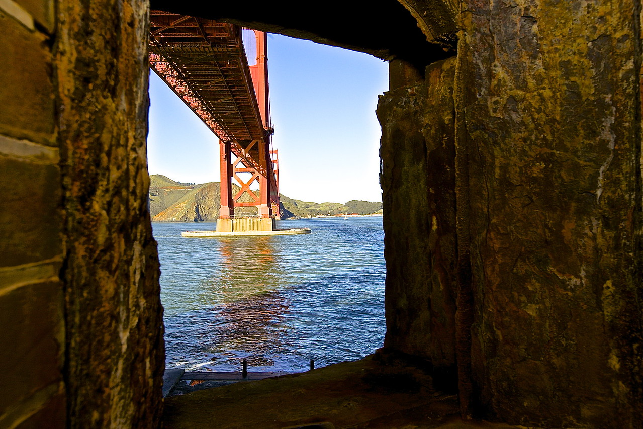 Fort Point, Golden Gate Bridge. San Francisco, California #4