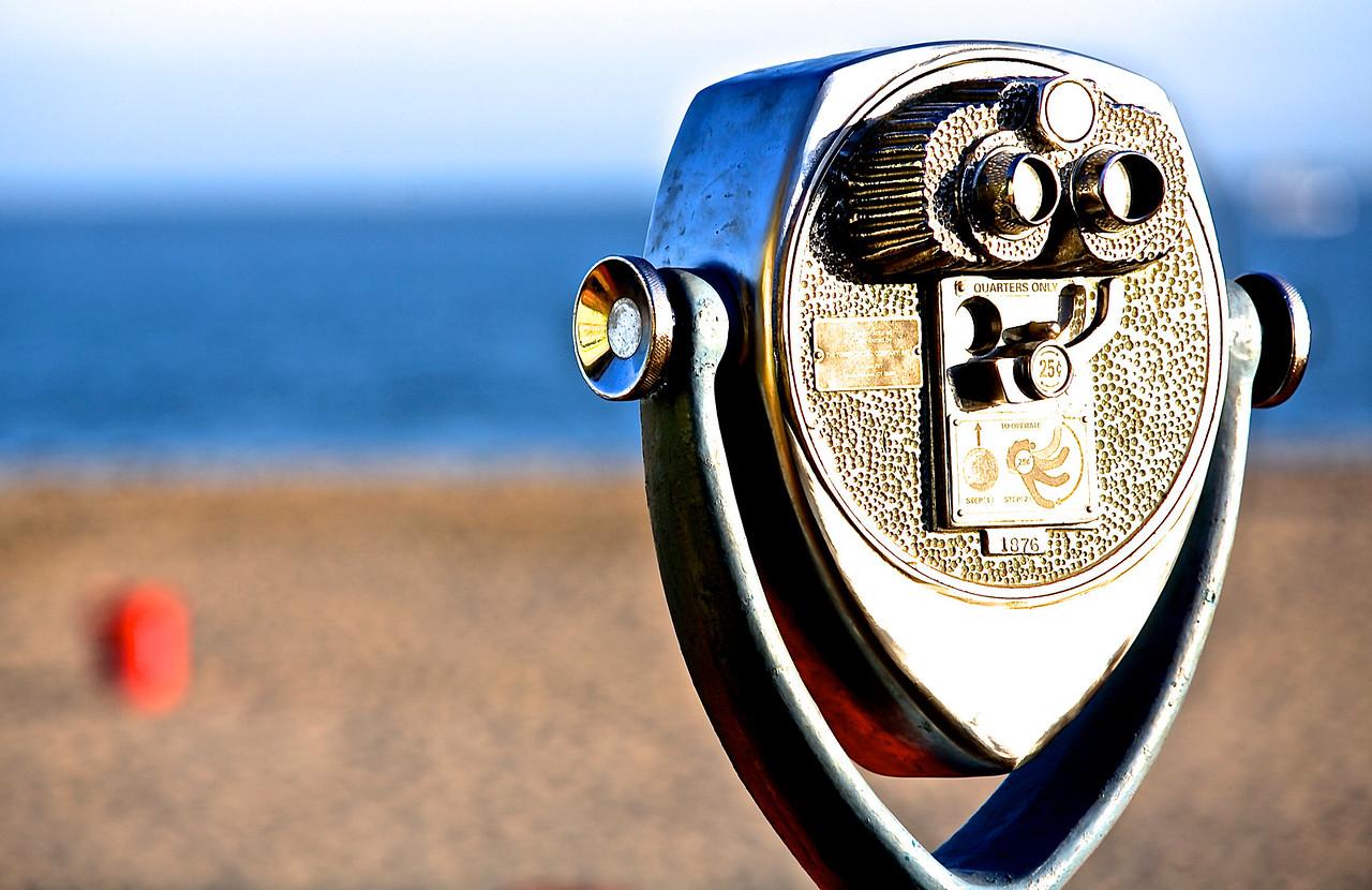 Telescope.  Santa Cruz Beach.