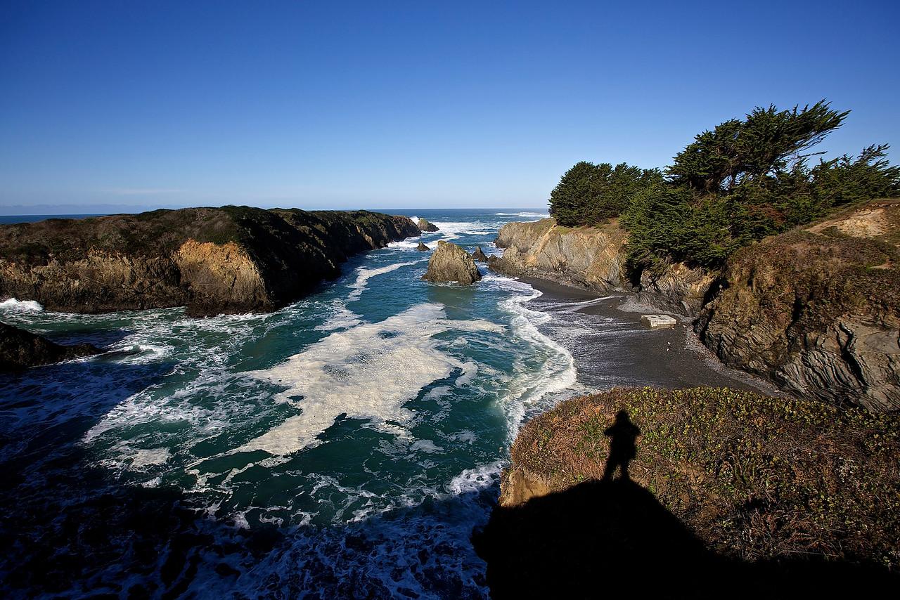 Mendocino Coastline.  California