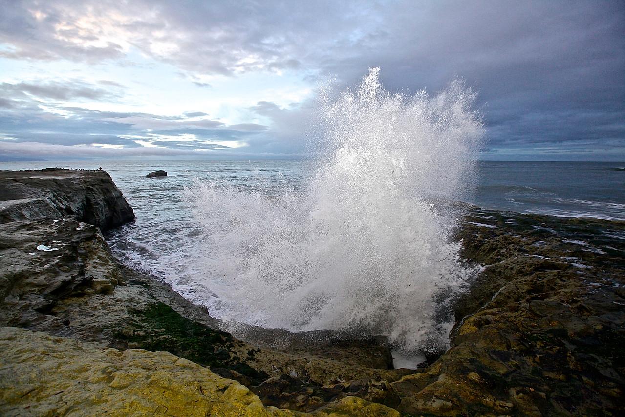 Wave.  Santa Cruz Beach