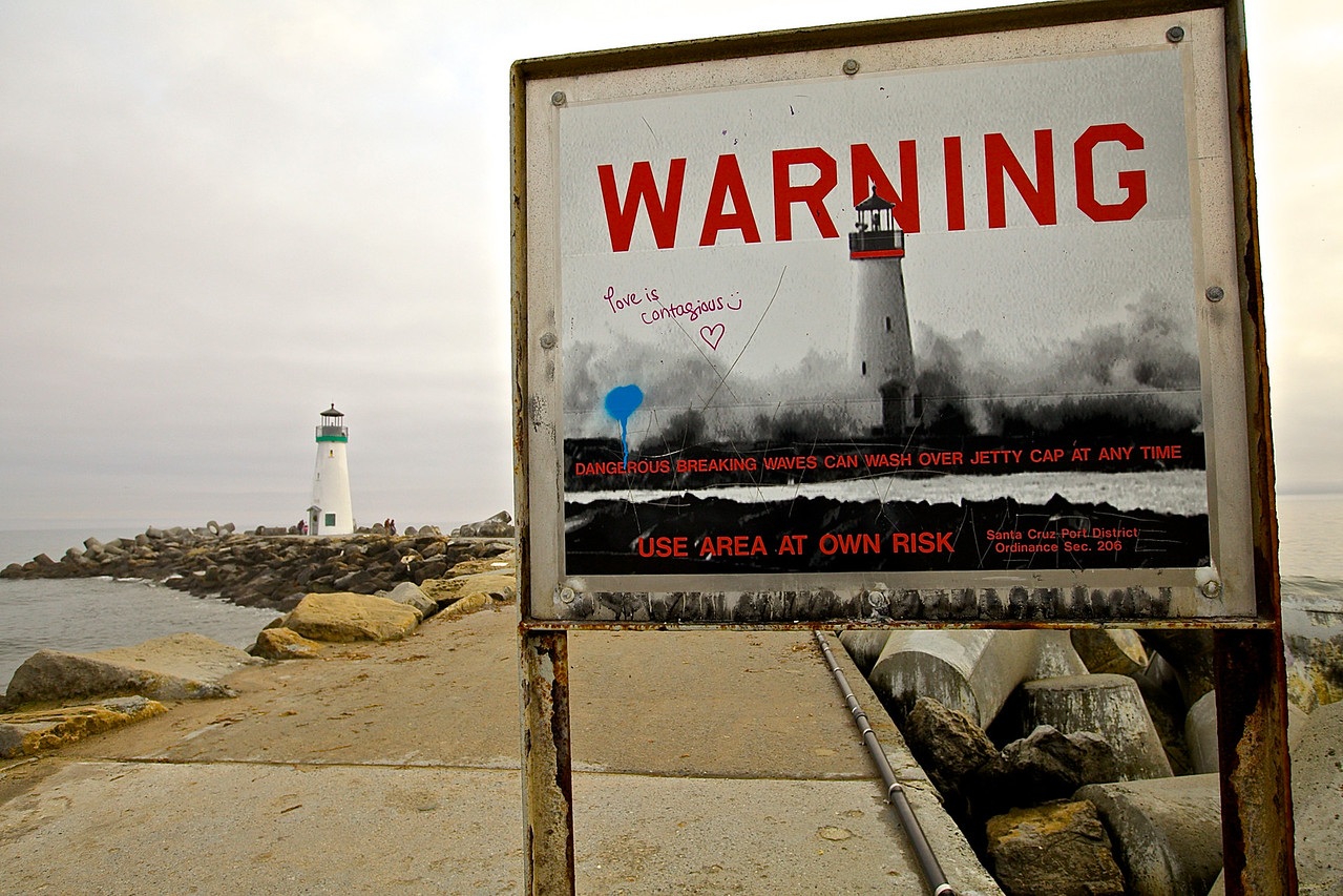 Warning, Love Is Contagious, East Cliff Harbor