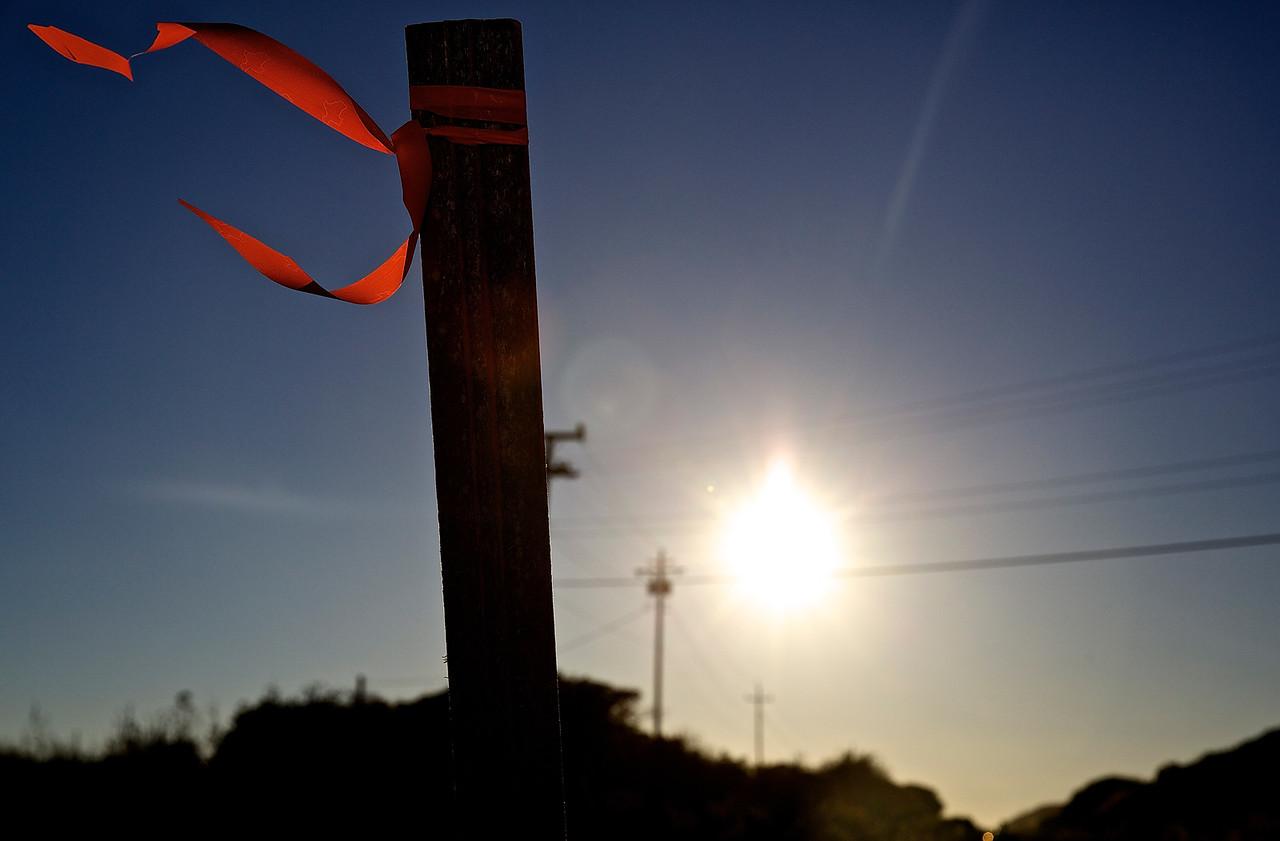 Ribbon.  Hwy 1, Santa Cruz County