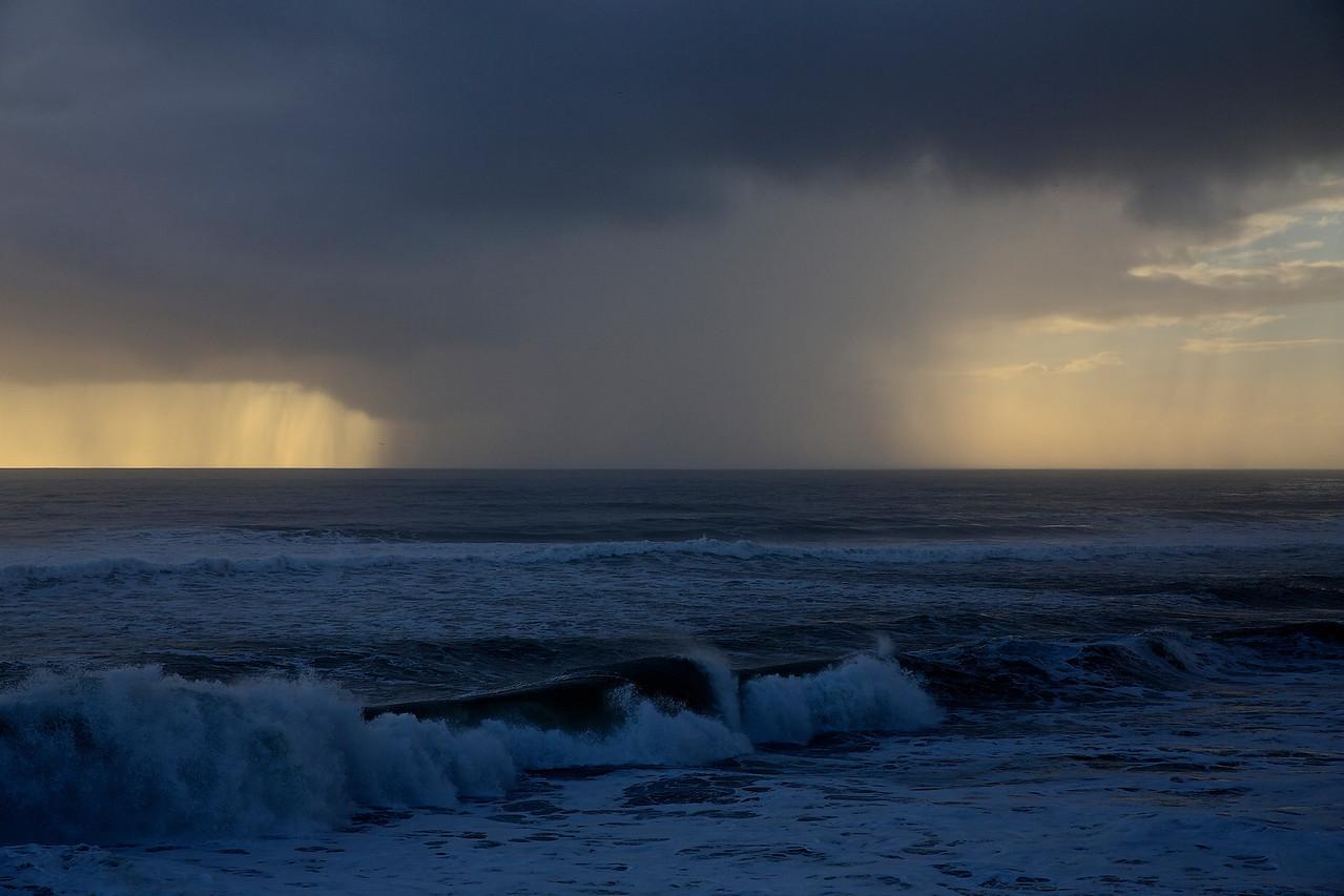 Squall.  Santa Cruz Beach