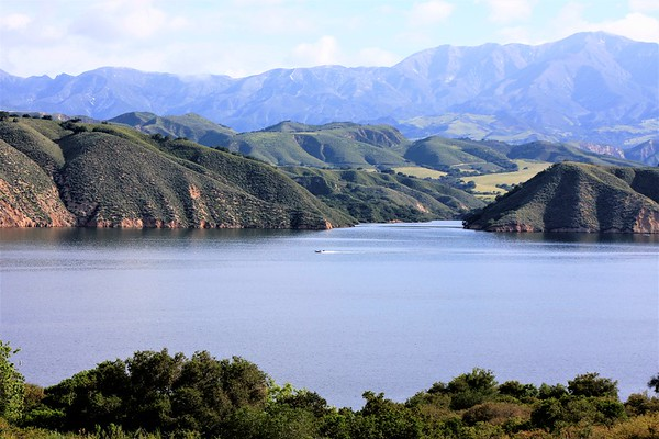 LAKE CACHUMA is an artificial lake located in the Santa Ynez Valley of central Santa Barbara County, California on the Santa Ynez River
