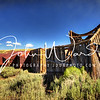 Bodie Falling House