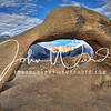 Mobius Arch with Mt Whitney in the background