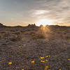 Trona Pinnacles Spring Sunset