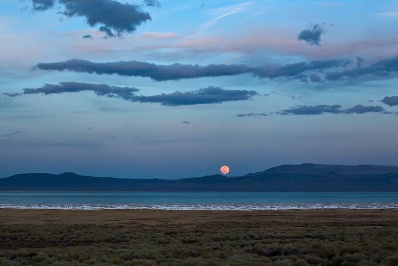 Full Moon Above Mono Lake