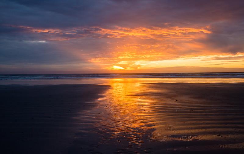 Last Light Over Morro Strands Beach