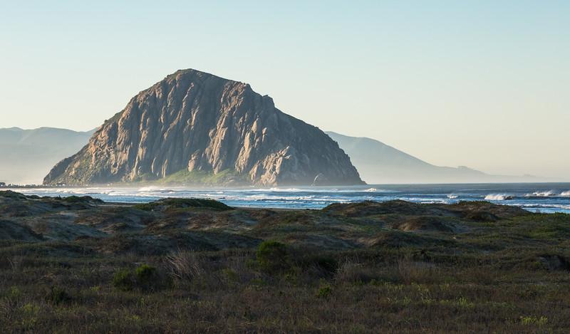 First Light on Morro Rock
