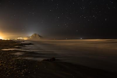 Morro Strands at Night