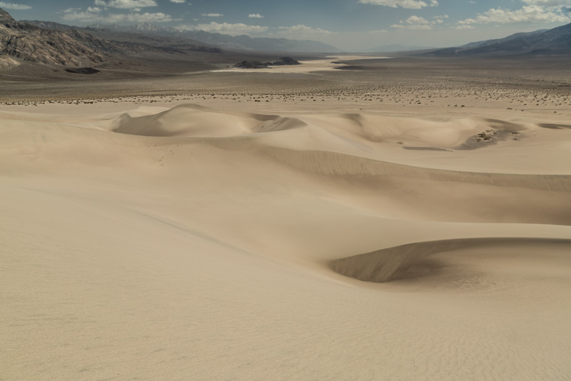 Across the Panamint Dunes, Across the Panamint Valley
