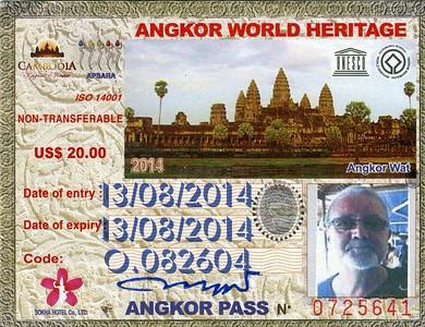 ANGKOR - CAMBODGE - 2014