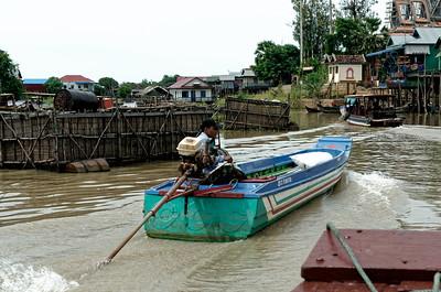 Lac Tonle Sap - CAMBODGE - 2014