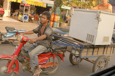 "Nothing is too hard for the Motorbike ""Moped"""