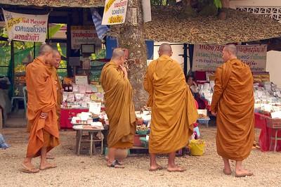 Monks Shopping