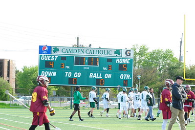 CAMDEN CATHOLIC ( 05 ) VS GLOUCESTER CATHOLIC ( 04 ) , BOYS LACROSSE - 04/17/19