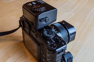 Fuji X-Pro1 with 35mm f/1.4 & EF-X20 Flash