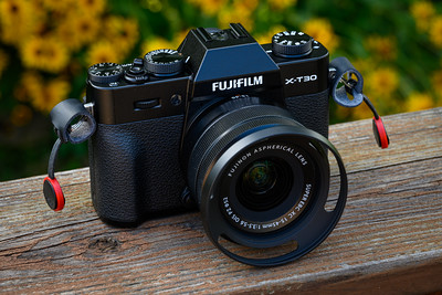 Fuji X-T30 with 15-45mm kit lens