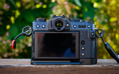 X-T30 with JJC hand grip (HG-XT30)