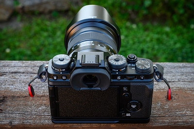 X-T4 in Black with 16-80mm f/4 lens