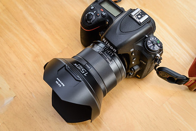 Irix 15mm f/2.4 Lens on Nikon D750