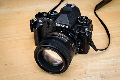 Nikon Df with 85mm f/1.8G