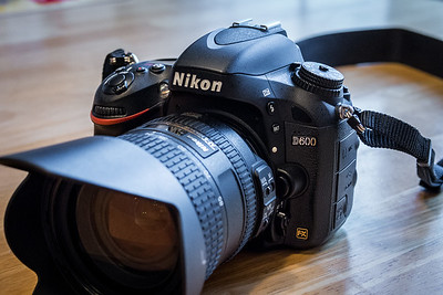 Nikon D600 with 24-85mm