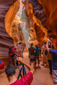 Absolutely ridiculous situation at Antelope Canyon in Arizona.