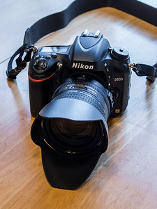 Nikon D600 full frame DSLR with Nikon 24-85mm VR Lens