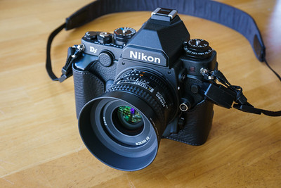 Nikon Df with Gariz Half Case