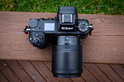 Nikon Z 35mm f/1.8 (on Nikon Z7)