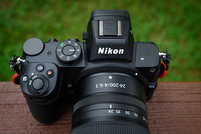 Nikon Z5 with 24-200mm